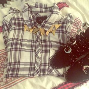 Rails Plaid Button Down- Celeb Fave!